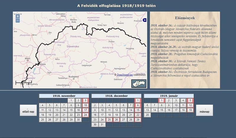 Sopron Selmec 100 A Felvidek Elfoglalasa Terkepen 1918 1919